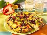 Tortilla mit roten Bohnen Rezept