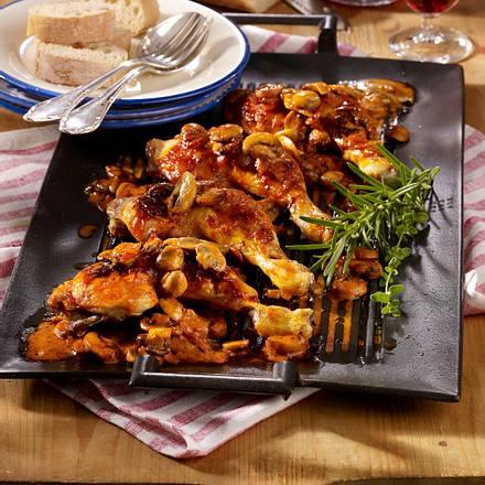 Toskanische Hähnchenkeulen Rezept