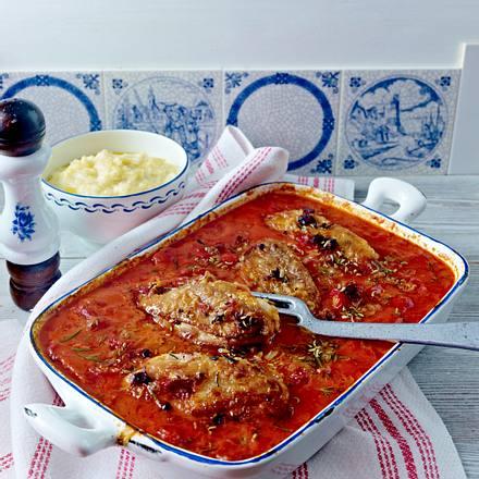Toskanisches Tomatenhähnchen Rezept