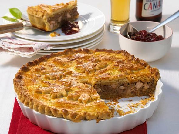 Tourtiere (Fleisch-Pie) Rezept