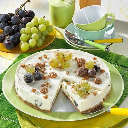 Trauben-Frischkäse-Torte Rezept