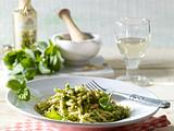 Trofie mit Pesto Genovese (Nudeln mit Pesto) Rezept