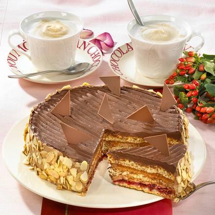 Trüffelcreme-Torte / Maximiliantorte Rezept