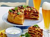 Tsatsiki zum Pizzakuchen Rezept