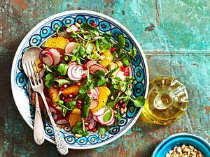 """""""Tu dir Gutes""""-Salat mit Mohndressing Rezept"""