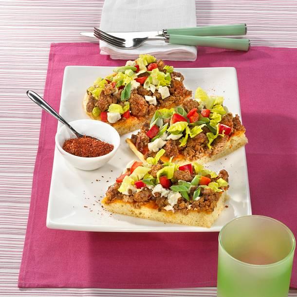 Türkische Hackfleischpizza Rezept