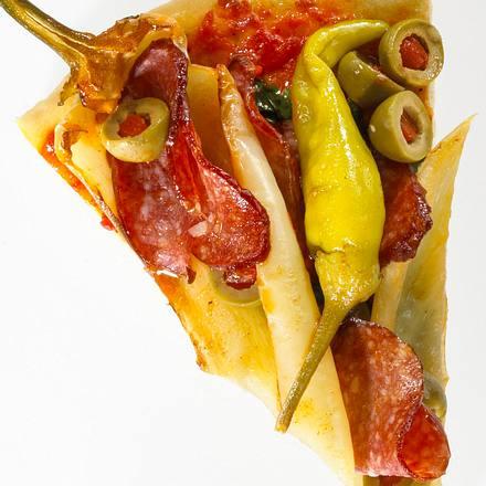 Türkische Peperoni-Pizza Rezept