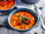 Turbomäßige Romesco-Suppe Rezept