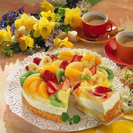 Tutti-Frutti-Torte Rezept