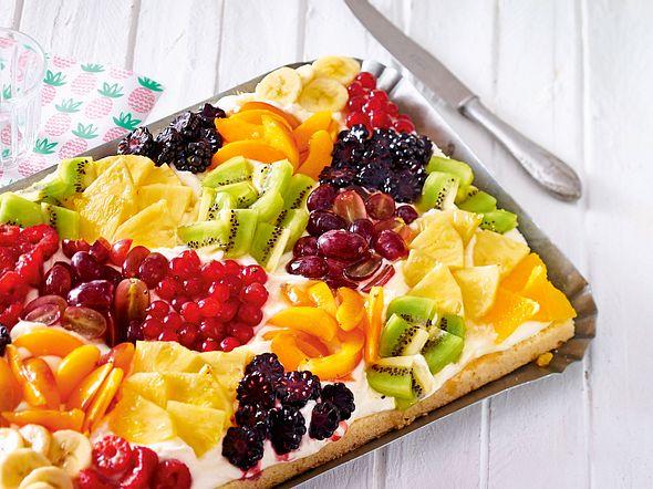 Tuttifrutti-Zitronenkuchen Rezept
