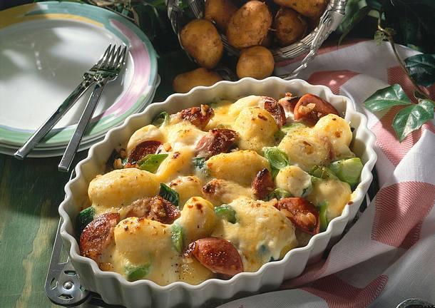Überbackene Béchamelkartoffeln Rezept