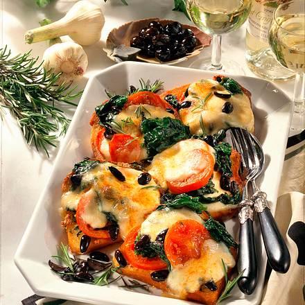 Überbackene Brote alla Toscana Rezept