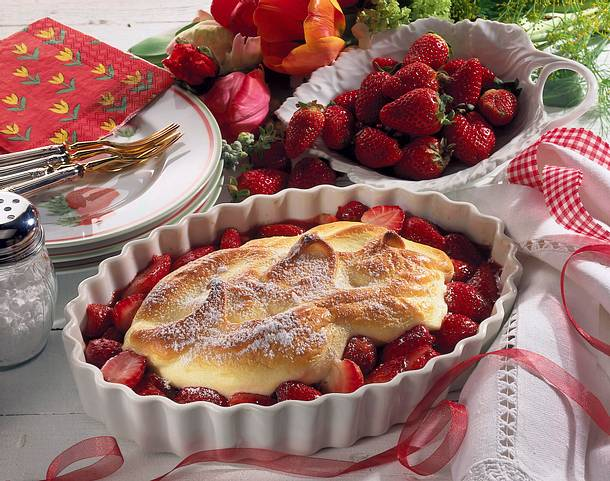 Überbackene Erdbeeren Rezept