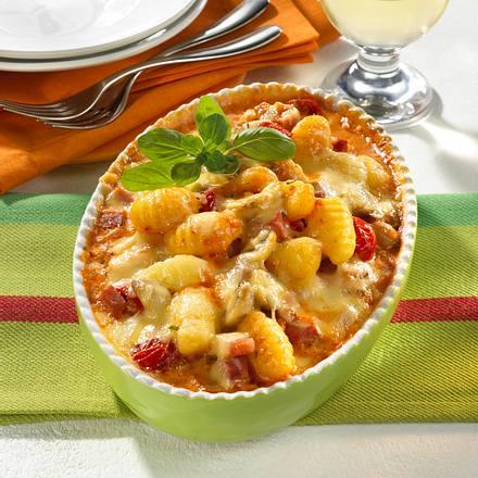 Überbackene Gnocchi in Tomatensahne Rezept