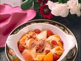Überbackene Himbeeren und Aprikosen Rezept