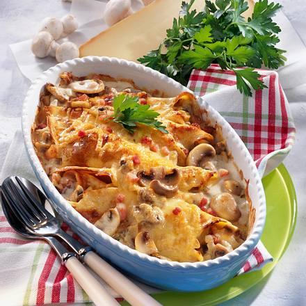 Überbackene Käse-Pfannkuchen Rezept