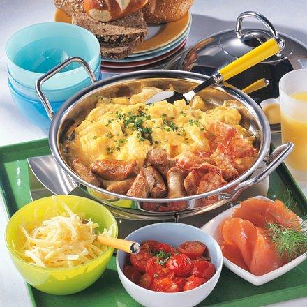 Überbackene Kartoffeln & Birnen Rezept