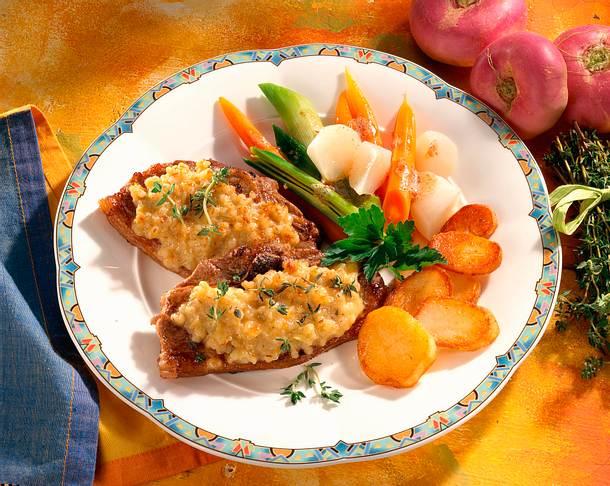 Überbackene Lammkoteletts Rezept