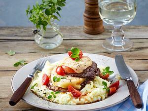 Überbackene Schinken-Käse-Schnitzel Rezept