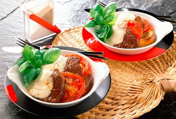 Überbackene Tomaten Rezept