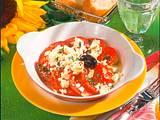 Überbackene Tomaten und Schafskäse Rezept