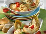 Überbackener Chicoree mit Fisch Rezept