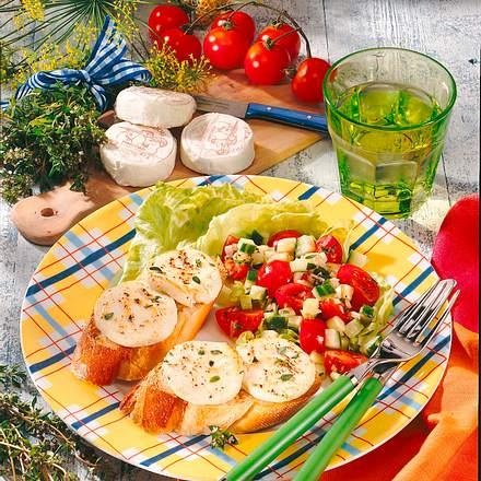 berbackener ziegenk se auf salat rezept chefkoch rezepte auf kochen backen und. Black Bedroom Furniture Sets. Home Design Ideas