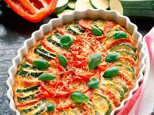 Überbackenes Gemüse (Gemüsegratin) Rezept