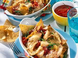 Überbackenes Hähnchenfleisch mit Tacos Rezept