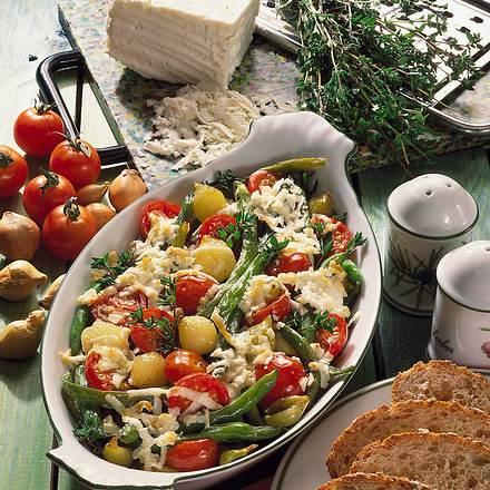 Überbackenes, mariniertes Gemüse Rezept