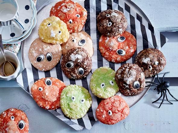 Ugly Cookies mit Puderzuckerschimmel Rezept