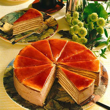 Ungarische Dobos Torte Rezept Lecker
