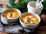 Ungarische Pilzsuppe mit Sterncroûtons Rezept