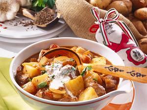 Ungarisches Kartoffelgulasch Rezept