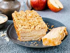 Unsichtbarer Apfelkuchen Rezept