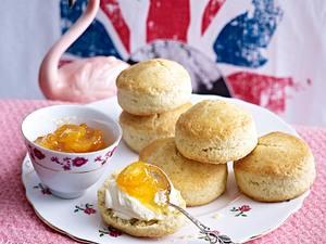 Vanilla Scones und Orangen-Kumquat-Marmelade Rezept