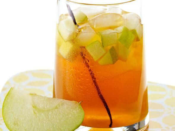 Vanille-Apfel-Eistee Rezept