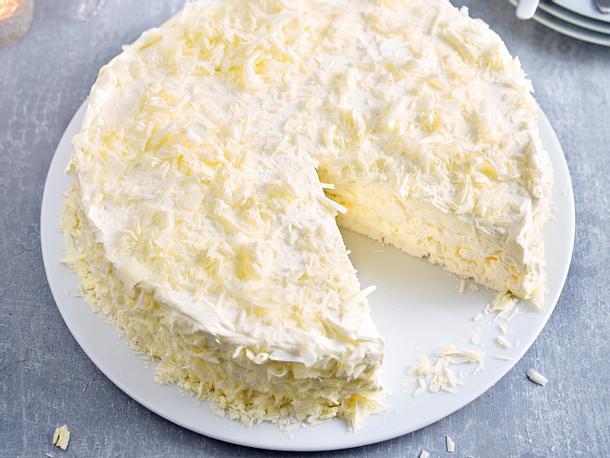 Vanille-Baiser-Kuchen Rezept