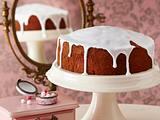 Vanille-Cheesecake mit Puderzucker-Guss Rezept