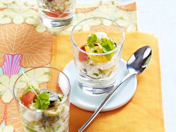 Vanille-Kabeljau-Tartar Rezept