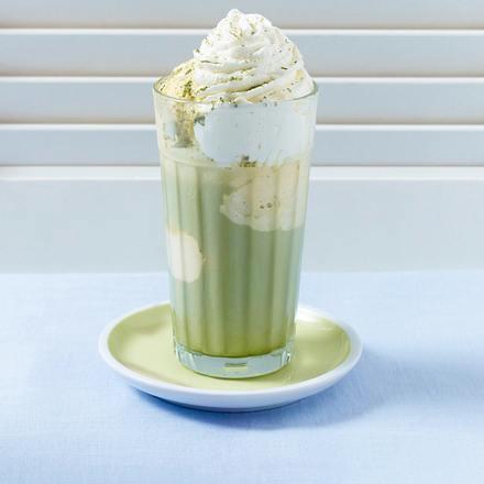 Vanille-Matcha-Eistee Rezept