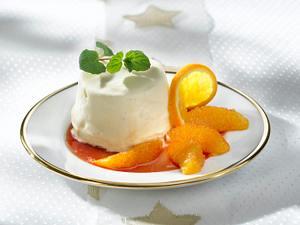 Vanille-Parfait mit Gewürzorangen Rezept