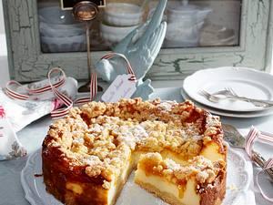 Vanille-Streusel-Cheesecake Rezept
