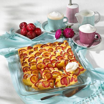 Vanillepflaumenkuchen Rezept