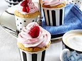 Vegane Cup Cakes mit Himbeercreme Rezept