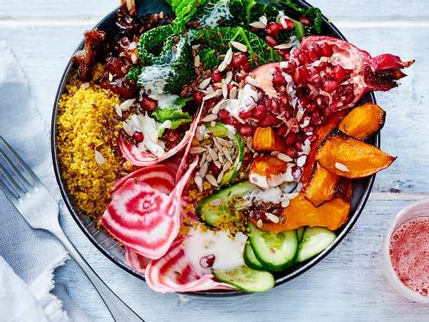 Vegane Vitamin-Bowl Rezept