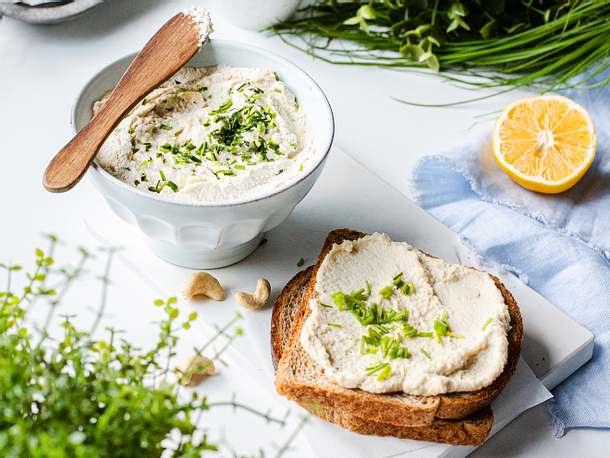 Veganer Cashew-Frischkäse Rezept