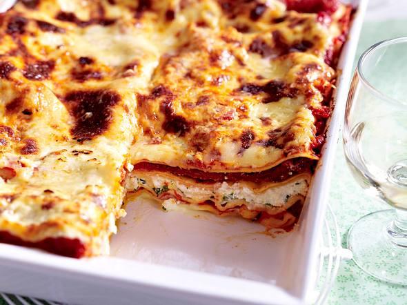 Vegetarische Kräuter-Lasagne Rezept