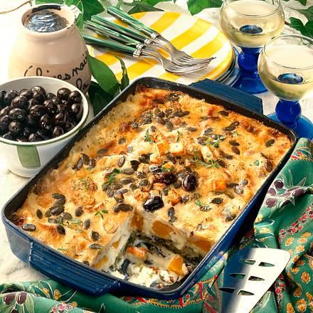 Vegetarische Lasagne Rezept