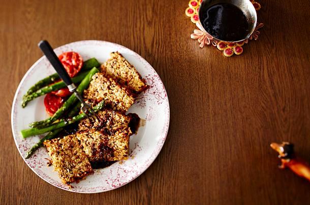 Vegetarischer Reisbraten mit Gemüse Rezept